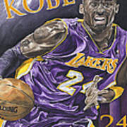 Kobe Bryant Print by David Courson