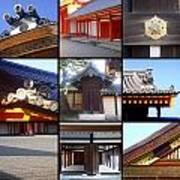Kyoto Imperial Palace Print by Roberto Alamino
