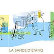 La Bande D'etang Print by Sean Hagan