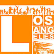 La Orange Poster Print by Naxart Studio