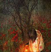 Laces Undone Print by Svetlana Sewell