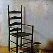Ladderback Print by Judi Bagwell