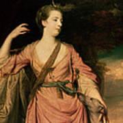 Lady Dawson Print by Sir Joshua Reynolds