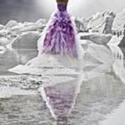 Lady On The Rocks Print by Joana Kruse