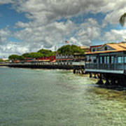 Lahaina Postcard 4 Print by Kelly Wade