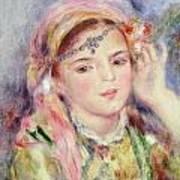 L'algerienne Print by Pierre Auguste Renoir