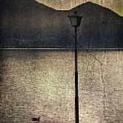 Lantern At The Lake Print by Joana Kruse