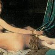 Large Odalisque Print by Jean-August-Dominique Ingres