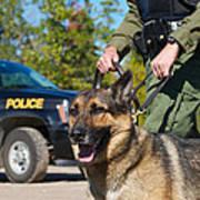 Law Enforcement. Print by Kelly Nelson