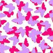 Layered Butterflies  Print by Louisa Knight