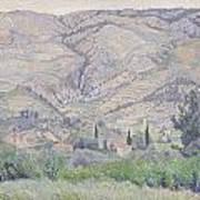 Le Ragas Near Toulon Print by Camille Pissarro