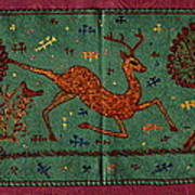 Leaping Gazelle Print by Siran Ajel