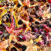 Leaves On Acid Print by Marilyn Sholin