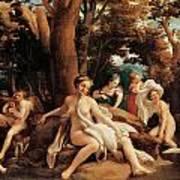 Leda With The Swan  Print by Correggio
