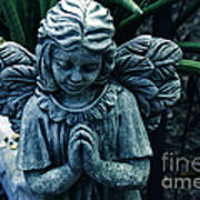 Lets Pray Print by Susanne Van Hulst