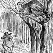 Lincoln Cartoon, 1862 Print by Granger