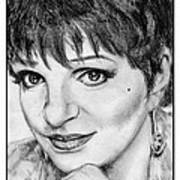 Liza Minnelli In 2006 Print by J McCombie