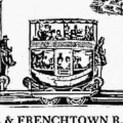 Locomotive, 1833 Print by Granger