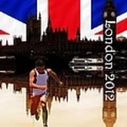 London Olympics Print by Sharon Lisa Clarke