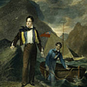 Lord Byron Print by Granger