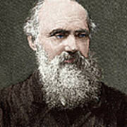 Lord Kelvin, Scottish Physicist Print by Sheila Terry