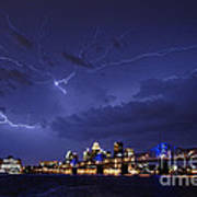 Louisville Storm - D001917b Print by Daniel Dempster