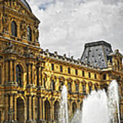 Louvre Print by Elena Elisseeva