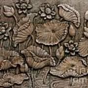 Low Relief Cement Thai Style  Print by Phalakon Jaisangat