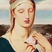 Madonna Print by Simeon Solomon