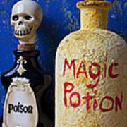 Magic Potion Print by Garry Gay