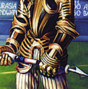 Major League Gladiator Print by Patrick Anthony Pierson