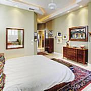Master Bedroom Print by Skip Nall