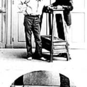 Measurement Of The Cubit, Bertillon Print by Science Source