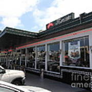 Mel's Drive-in Diner In San Francisco - 5d18041 Print by Wingsdomain Art and Photography