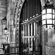 Memorial Hall Entrance Print by Steven Ainsworth
