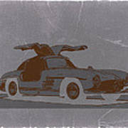 Mercedes Benz 300 Print by Naxart Studio