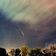 Meteor Perseid Meteor Shower Print by Thomas R Fletcher