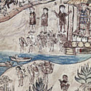 Mexico Indians C1500 Print by Granger