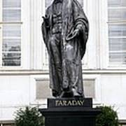 Michael Faraday, British Physicist Print by Sheila Terry