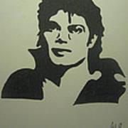 Michael Jackson Print by Damian Howell