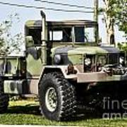 Military Truck Print by Blink Images