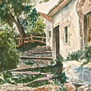 Millstone Aria Print by Frank SantAgata