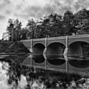 Mirror Bridge Print by Peter Chilelli