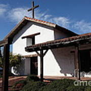 Mission Francisco Solano - Downtown Sonoma California - 5d19300 Print by Wingsdomain Art and Photography
