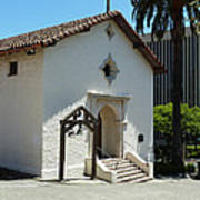 Mission San Rafael Arcangel Chapel Print by Methune Hively