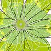 Moda Flower Mix I  Print by Ricki Mountain