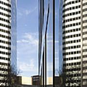 Modern High Rise Office Buildings Print by Roberto Westbrook