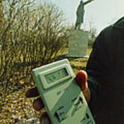 Monitoring Fallout Levels From Chernobyl. Print by Ria Novosti