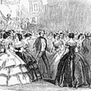 Mormon Ball, 1857 Print by Granger