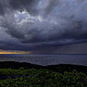Morning Squall Print by Mike Herdering